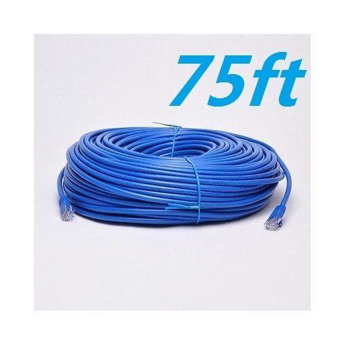Cat6 Patch Cord Cable 500mhz Ethernet Internet Network LAN RJ45 UTP Blue Us New