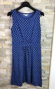 Boden-Damas-Vestido-Floral-Azul-Talla-10-R