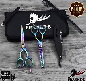 MULTI-Pro-5-5-034-Barber-Hair-Cutting-Thinning-Scissors-Shears-Hairdressing-Salon