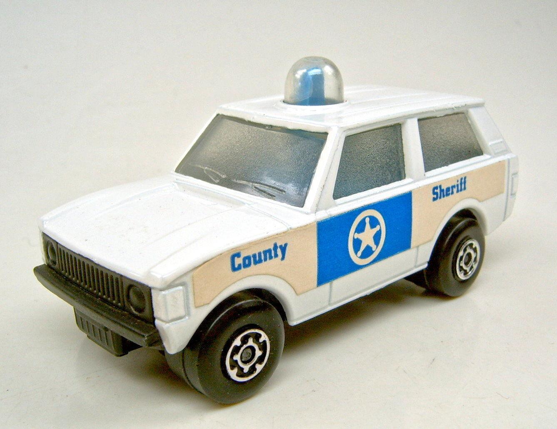 Matchbox Superfast No 20b Police Patrol white  County Sheriff  not printed