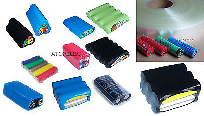 2M Black PVC Heat Shrink Tube Wrap Lipo Li-ion Ni-MH RC Battery Pack 7-505mm