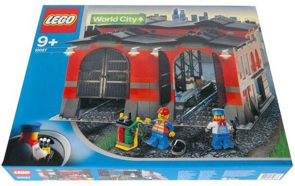 Lego 9V Zug Welt Stadt 10027 Zug Motor Schuppen Neu Ovp + 9