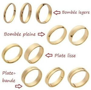 Wedding-Ring-Gold-Plated-Warranty-10-Years-Width-And-Any-Size-Man-or-Woman