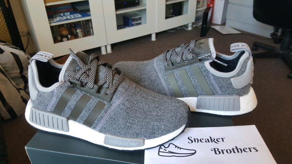 Adidas grigio nmd_r1 runner nomade impulso 3m riflettente lana grigio Adidas antracite gray bw0616 pk cbf1d8