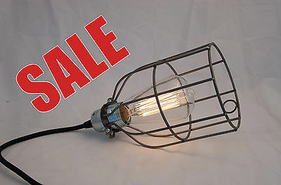 Industrial Vintage Style Safety Protective Cage Work Light Cover Steel