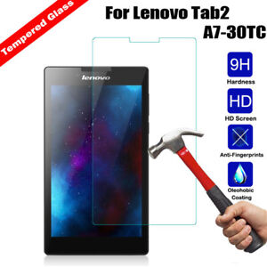 "Genuine Tempered Glass Screen Protector for 7/"" Tablet Lenovo Tab 2 A7-30TC"