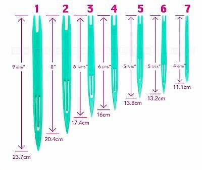 5pcs NEW NETTING NEEDLE SHUTTLE WEAVING LOOMS FOR FISHING NET TRAWL AND REPAIR