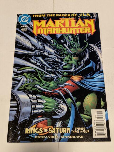 Martian Manhunter #15 February 2000 DC Comics Ostrander Mandrake