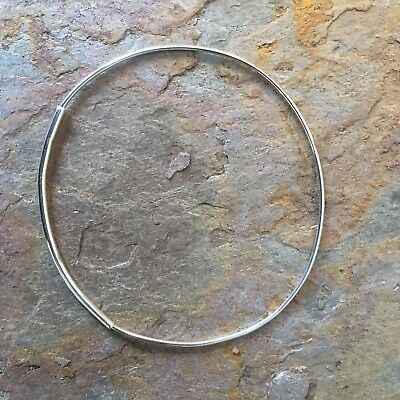 Silver Bracelet Round Bracelet Silver Wires Cuff Sterling Silver Cuff Stiff Cuff Stiff Silver Bracelet Sterling Silver Bracelet