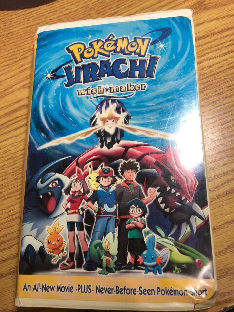 Pokemon Jirachi Wish Maker Vhs 2004 For Sale Online Ebay