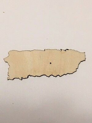 Laser Cut Wood Mexico Unfinished Wood Cutout ST013 Crafting Supplies