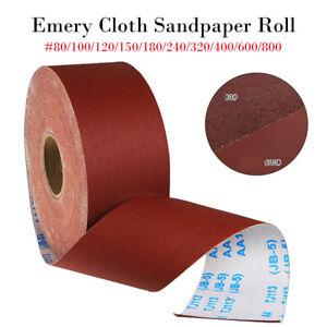 Papier-De-Verre-Rouleau-Abrasif-Poncage-Rouleau-80-100-120-150-180-240-320-400-600-800-Grit