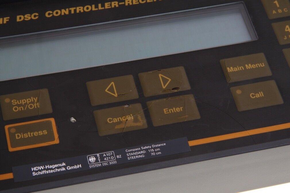 Skanti Type DSC 3000 VHF DSC Receiver Controller Receiver DSC fa22c4
