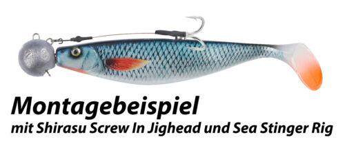 BALZER Shirasu SEA Norway Screw In Jig 50g bis 300g Schraubjigkopf Stingersystem