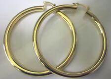 14 Karat Gold Plated Anchor Earrings Ebay