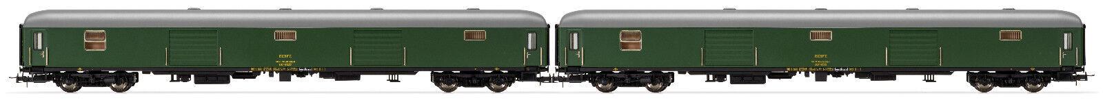 Electrossoren e5229 carro para el equipaje 2 piezas dd-8125 dd-8115 Renfe EP. IV nuevo embalaje original