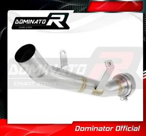 DE-CAT-DECAT-Cat-Eliminator-Down-Pipe-Exhaust-DOMINATOR-SUZUKI-GSX-S-1000-15-19