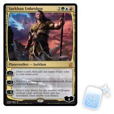 SARKHAN UNBROKEN Dragons Of Tarkir DTK Planeswalker Magic MTG MINT CARD