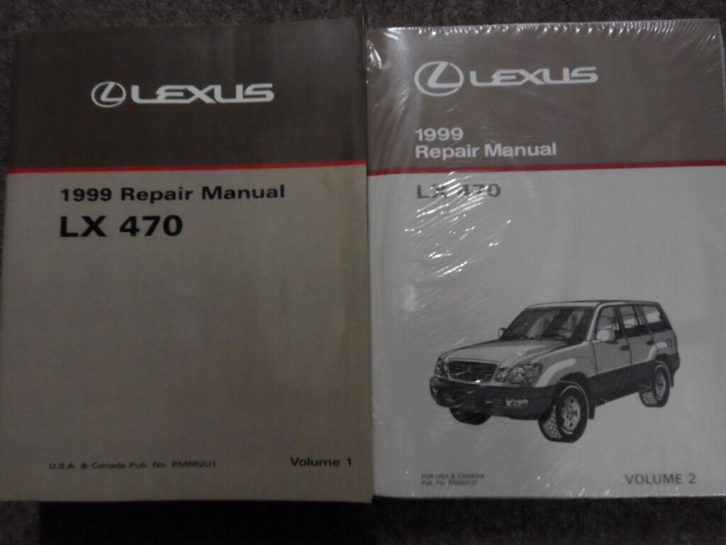 1999 Lexus Lx470 LX Servicio Shop Manual Taller Juego 470 Reparación on mercury quicksilver wiring diagram, mercury black max repair, mercury comet wiring diagram, mercury verado wiring diagram, mercury black max engine,