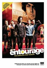 Brand New DVD Entourage: The Complete First Season Adrian Grenier Kevin Connolly