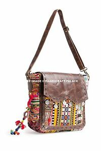 Details About Indian Handmade Bags Afghani Embroidery Hippie Bohemian Ethnic Women