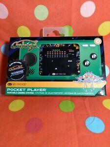 My Arcade Official Galaga Pocket Player Mini Handheld Retro Video Game New 845620032440 Ebay
