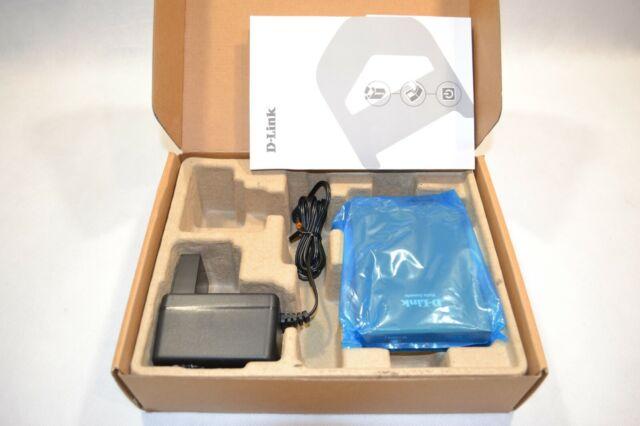 D-link DMC-300SC Médias Convertisseur Media avec Bloc D'Alimentation Neuf !