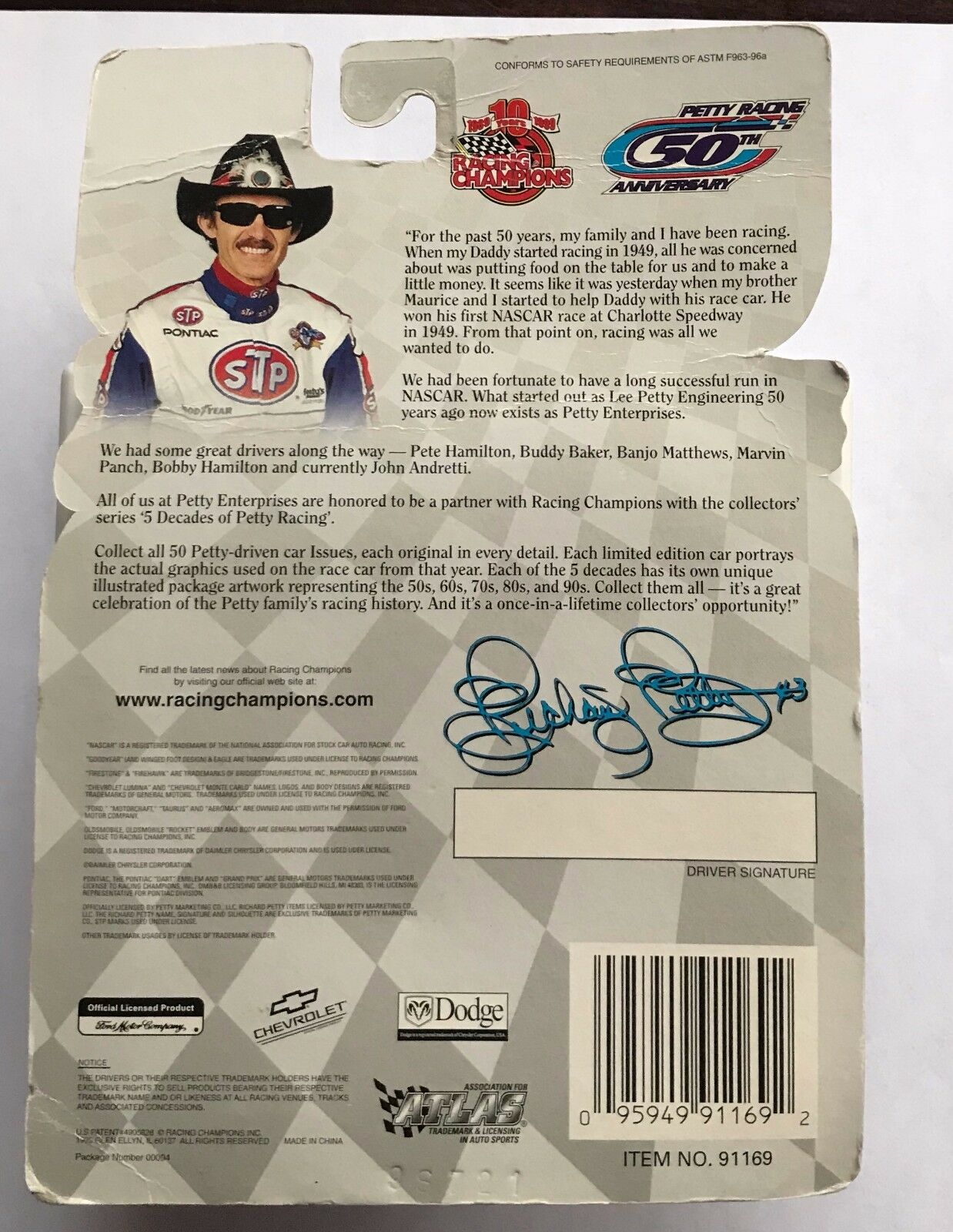 1953    5 DECADES OF OF OF PETTY    LEE PETTY 89feea