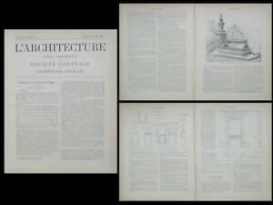 L-039-ARCHITECTURE-n-51-1899-JEAN-BELISAIRE-MOREAU-MOULINS