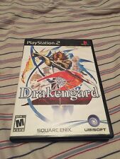 Drakengard 2 (Sony PlayStation 2, 2006) PS2 - Has Scratches (see Pics)