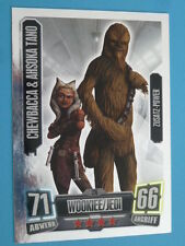 Force Attax Clone Wars Serie 2, Chewbacca & Ahsoka Tano (216), Zusatz-Power