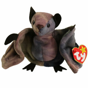 TY Beanie Baby - BATTY the Bat (TY-Dyed Version) (4.5 inch) - MWMTs Stuffed Toy