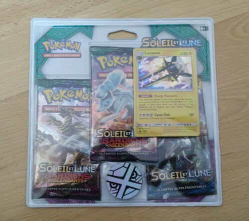 Français Pokemon Pack 3 boosters SL2 LUCANON neuf