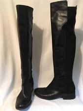 5d7c1386d44 item 1 NINE WEST Black Leather and Textile OTK Over the Knee NWPRISTEEN  Boots 8.5 M -NINE WEST Black Leather and Textile OTK Over the Knee  NWPRISTEEN Boots ...
