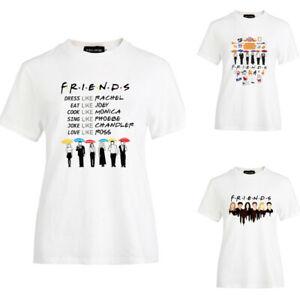Friends T-Shirt Show Inspired Women Fashion Tee Tops T-shirts