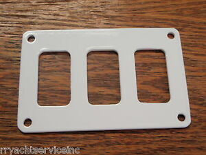 VME SWITCH PANEL FITS 2 CARLING CONTURA SWITCH BOATINGMALL  BOAT PARTS