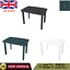 Garden Table Plastic Outdoor Dining Camping Table with Umbrella Hole Furniture