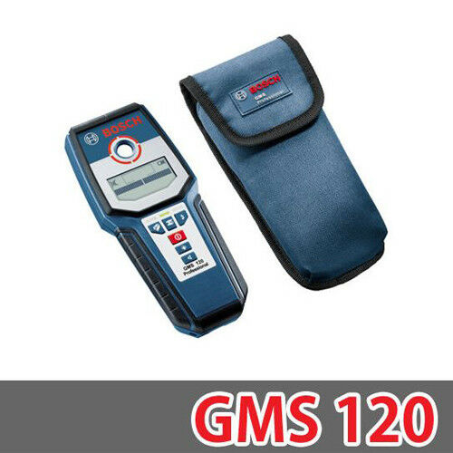 New Bosch GMS 120 GMS120 Professional Wall Scanner Multi-detector
