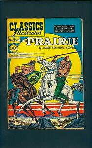 Classics-Illustrated-58-HRN-60-STRICT-VG-Pretty-NICE-The-PRAIRIE-id-7085