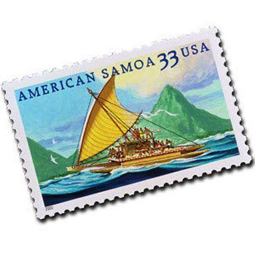 2000 33c American Samoa, South Pacific Ocean Scott 3389