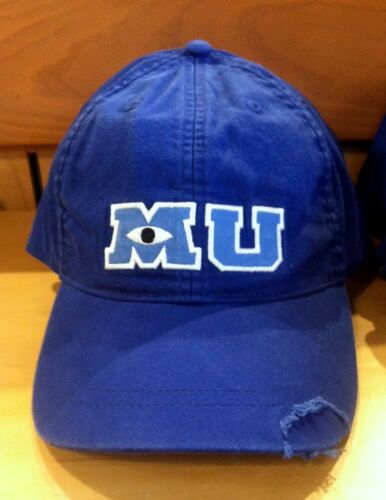monsters university mu baseball cap hat adult world theme parks new disney caps with ears hats