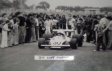 9x6 fotografia, WILSON FITTIPALDI, COPERSUCAR FD01, INTERLAGOS 1975, NUOVO TEAM