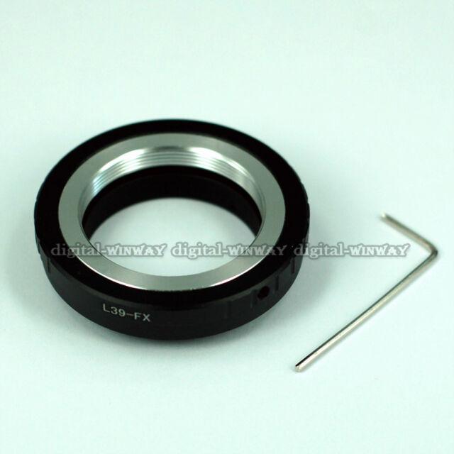 Leica L39 39mm Lens Adapter Ring Tube to Fujifilm FX X Mount X-Pro1 X-E1 XE2 XM2
