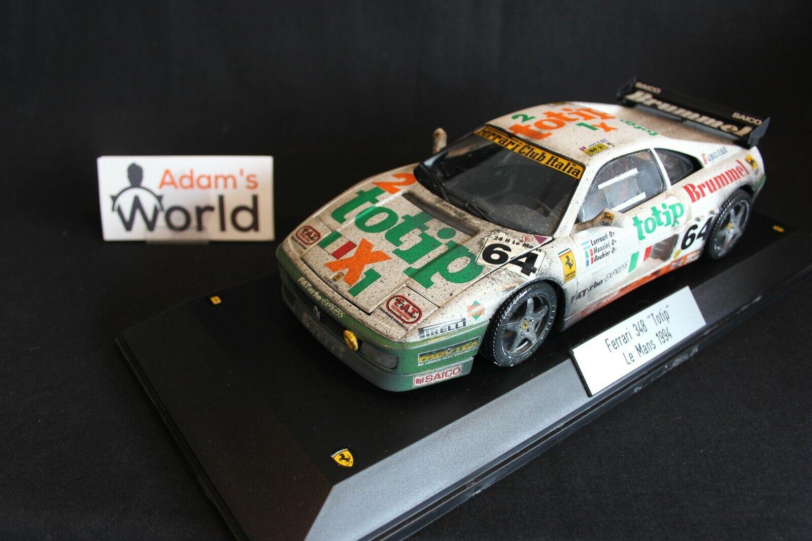 Bburago   TB transkit Ferrari 348 GTC-LM 1994 1 18 h Le Mans (PJBB) dirty
