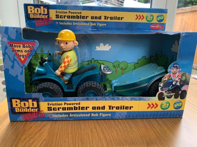Bob the Builder Friction Powered Vehicles Figures Lots of Characters