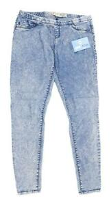 Womens-Denim-Co-Blue-Denim-Jeggings-Size-10-L27