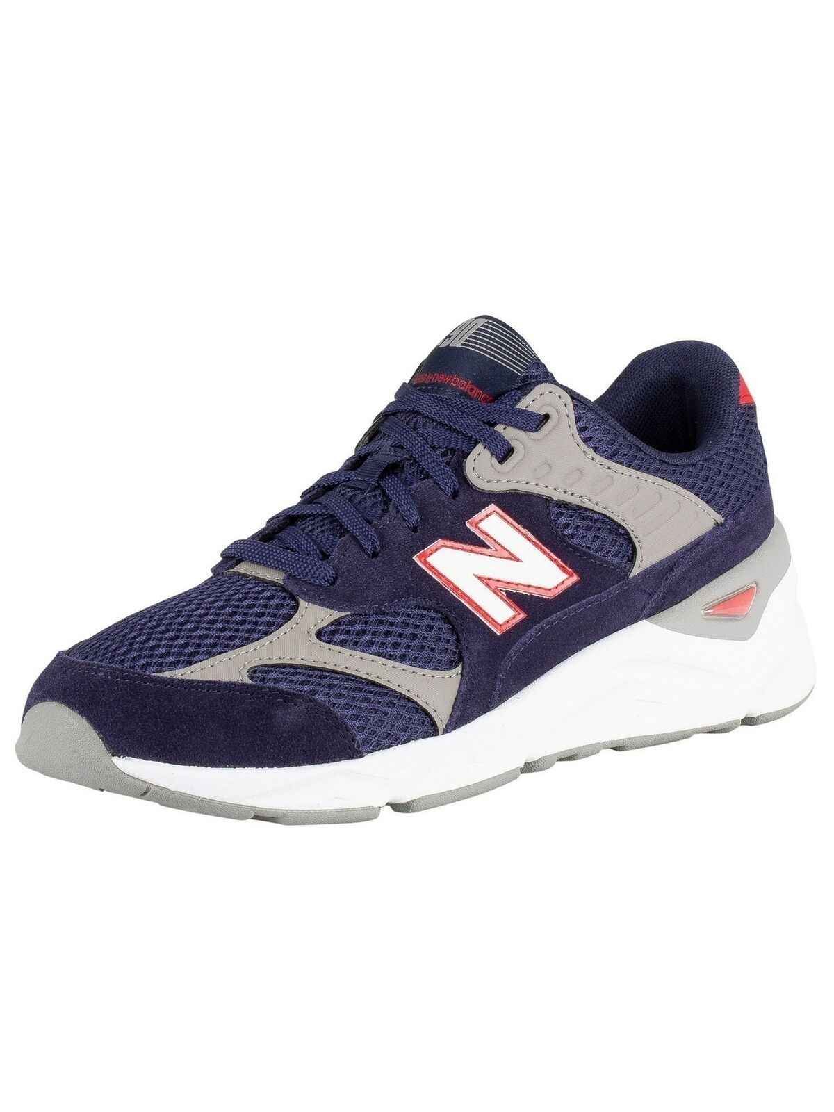 New Balance Men's X-90 Suede Trainers, bluee