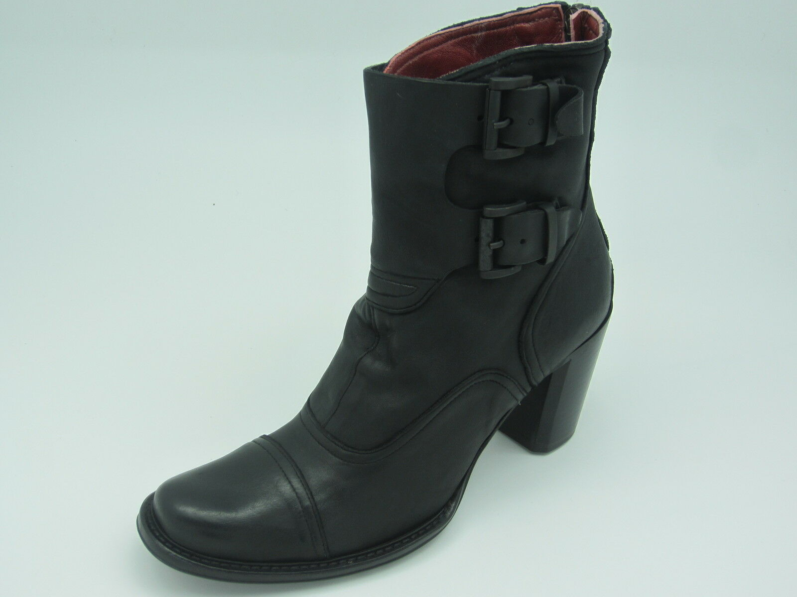 Jo Ghost 1034 5171 [] señora botas de cuero negro botín nuevo & OVP