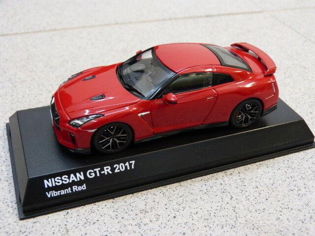 Nissan gt - r r 35 zutrifft 1 43 2017 pulsierenden rot kehren kyosho modellino auto ks03893r