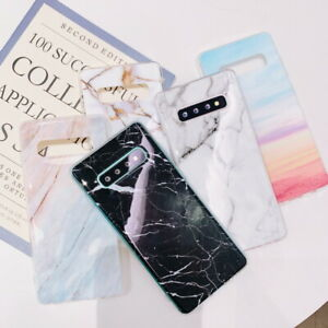 Glossy-Marble-Soft-TPU-Cover-Case-For-Samsung-Galaxy-S20-S10-S9-S8-S7-Note-9-8